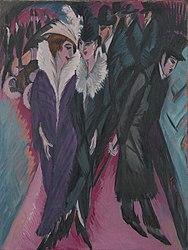 Ernst Ludwig Kirchner: Street Berlin
