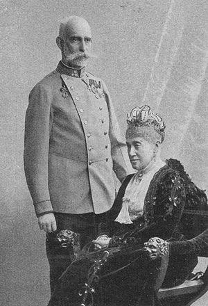 Archduke Rainer Ferdinand of Austria - Archduke Rainer and Maria, 1902