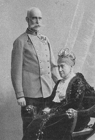 Archduke Rainer Ferdinand of Austria - Archduke Rainer and Maria, 1902