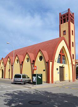 Església de la mare de Déu de la Torre Foradada.JPG