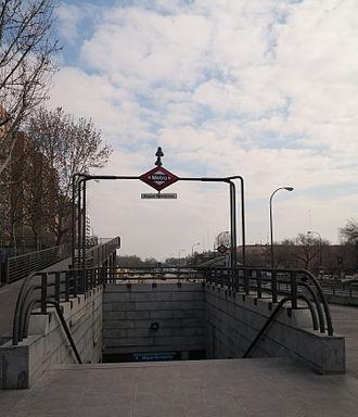 Miguel Hernández (Madrid Metro) - Image: Estación de Miguel Hernández
