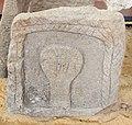 Età romana, lapidi con figure umane stilizzate, da viddalba, 50 ac.-50 dc ca..JPG