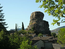 The rock of Alba