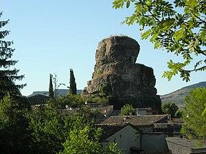 Alba-la-Romaine - The Rock of Alba