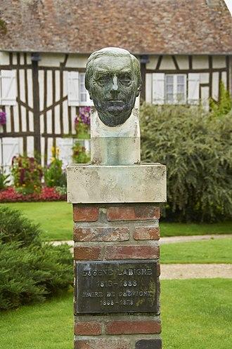 Eugène Marin Labiche - Statue in Souvigny-en-Sologne, France