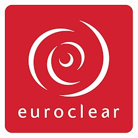 The Central Bank announces the establishment of a banking relationship with Euroclear Bank 280px-Euroclear-logo-RED