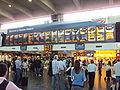 Euston railway station departures board - DSC06905.JPG