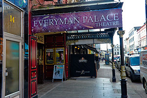 Everyman Palace Theatre - Awning of Everyman on MacCurtain Street