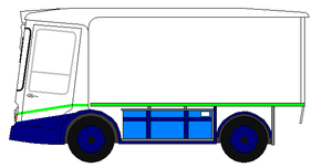 Express Dairies - An Express Dairies Morrison Marsden milk float