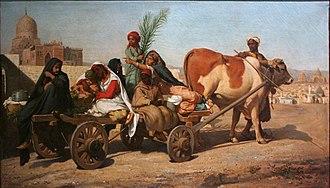 Félix Auguste Clément - Image: Félix Auguste Clément Pendant les fêtes du Baïram au Caire