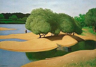 Bancs de sable sur la Loire