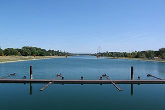 1998 World Rowing Championships - The regatta course at Fühlinger See