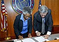 FCC & National Institute on Aging Signing Agreement to help Americans w- hearing disabilities (11344816376).jpg