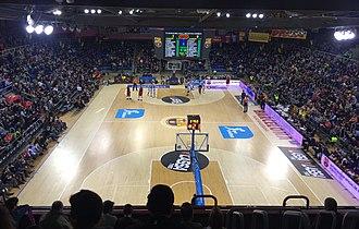 FC Barcelona Bàsquet - A Barcelona home game inside the Palau Blaugrana.