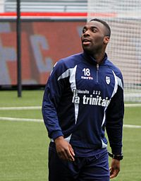 FC Lorient - May 24th 2013 training - Gilles Sunu.JPG