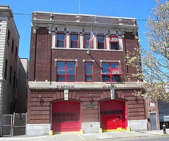 Rockaway Beach, Queens - Firehouse