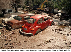 English: Laguna Canyon, CA, 3/3/1998 -- Laguna...
