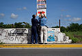 FEMA - 39281 - FEMA workers putting up a sign to the DRC in Puerto Rico.jpg