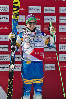 Victor Öhling Norberg Swedish freestyle skier