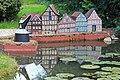 Fachwerkhäuser in der Miniwelt Lichtenstein..IMG 6032OB.jpg