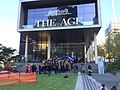 Fairfax journalists demonstrate outside Media House against Fairfax staff cuts.jpg
