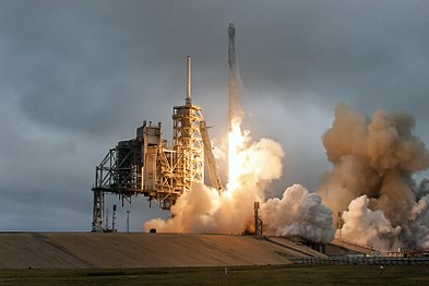Falcon 9 and Dragon lift off from Launch Pad 39A for CRS-10 (33000638185).jpg