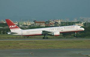 Far Eastern Air Transport Boeing 757 Spijkers.jpg