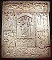 Fattura forse egiziana, coperta di evangeliario detta dittico di murano, avorio, 500-550 ca. 01.jpg
