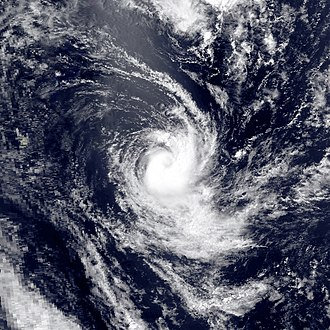 1989–90 South-West Indian Ocean cyclone season - Image: Felana mar 13 1990 0936Z