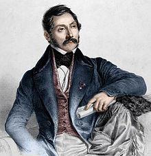 Librettist Felice Romani (Source: Wikimedia)