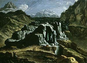 Felix Meyer - Grindelwald glaciers by Felix Meyer, Kunstmuseum Winterthur, 1700
