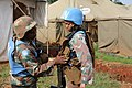 Female combat troops of South African Contingent in MONUSCO on robust foot and moblile patrols 13.jpg