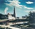 Ferdinand von Wright, Kuutamonäkymä Oulusta.jpg