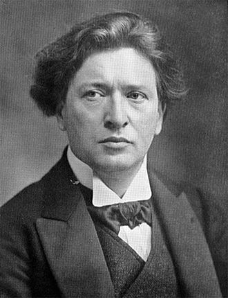 Piano Concerto (Busoni) - The composer in 1905, soon after completing the concerto