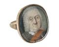 Fingerring av guld med miniatyrmålning, 1700-tal - Hallwylska museet - 110232.tif