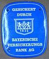 Fire mark for Bayerische Versicherungsbank Aktiengesellschaft in Munich, Germany.jpg