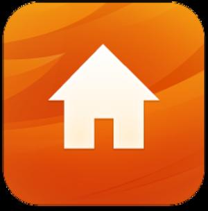 Firefox for iOS - Image: Firefox Home logo