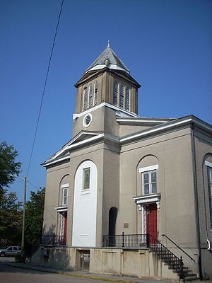 First African Baptist Church, Savannah (Chatha...