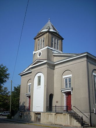 Southern Baptist Convention - First African Baptist Church, Savannah, Georgia, constructed 1856