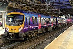 First TransPennine Express Class 185, 185131, platform 4, Manchester Victoria railway station (geograph 4500572).jpg