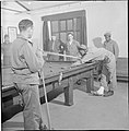 First US Army Rehabilitation Centre- Recuperation and Training at 8th Convalescent Hospital, Stoneleigh Park, Kenilworth, Warwickshire, UK, 1943 D16630.jpg