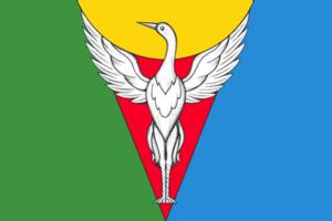 Oktyabrsky District, Chelyabinsk Oblast - Image: Flag of Oktyabrsky rayon (Chelyabinsk oblast)