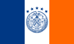 Flag of the Mayor of New York City.svg