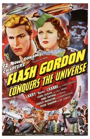 Flash Gordon Conquers the Universe - Theatrical release poster