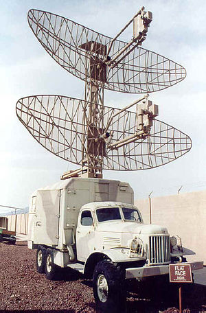 P-15 radar - P-15 Flat Face A at Nellis AFB