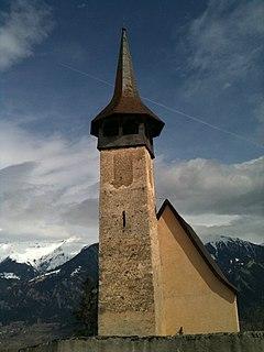 Flerden Place in Graubünden, Switzerland
