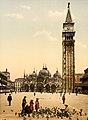 Flickr - …trialsanderrors - Piazza San Marco ^ campanile, Venice, Italy, ca. 1895.jpg