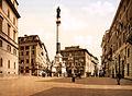 Flickr - …trialsanderrors - Piazza di Spagna, Rome, Italy, ca. 1895.jpg