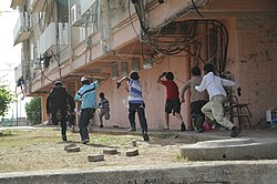 Flickr - Israel Defense Forces - Children in Town Under Fire by Rockets from Gaza (2).jpg