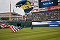 Flickr - Official U.S. Navy Imagery - The Leap Frogs land at Progressive Field..jpg